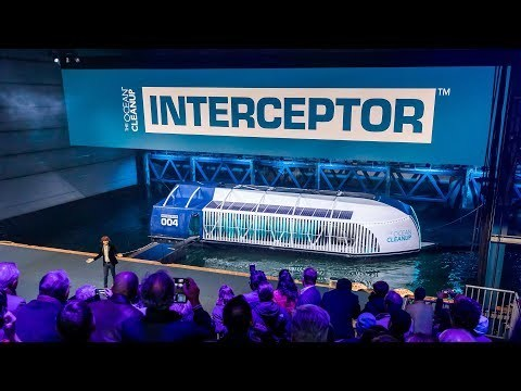Boyan Slat unveils The Ocean Cleanup Interceptor