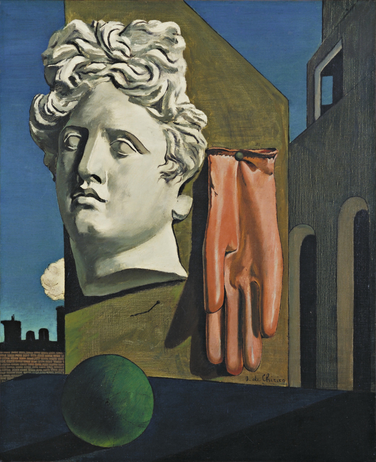 The Song of Love, by Giorgio de Chirico