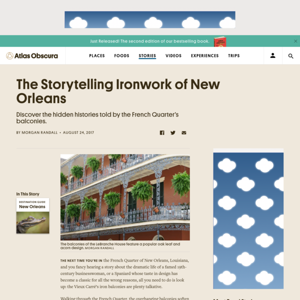 The Storytelling Ironwork of New Orleans