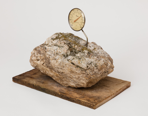 2019.11 Charles Harlan: Mountain Lake, Thermometer, 2019