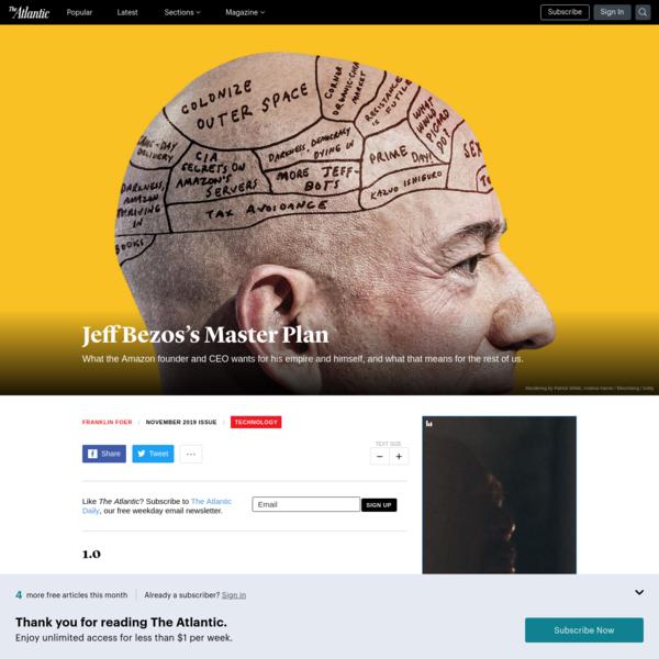 Jeff Bezos's Master Plan - The Atlantic