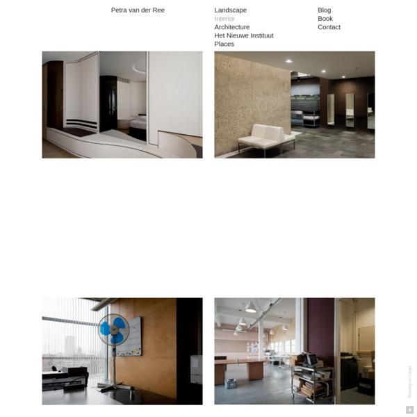 Interiors - Petra van der Ree
