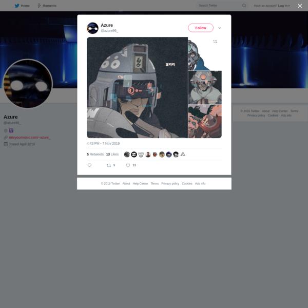Azure on Twitter