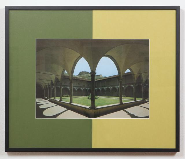 Barbara Bloom, Corner: Italian Garden II (1998)