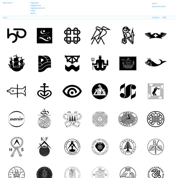 Logo Nature - a site to compare logos