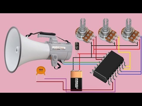 how to make echo sound circuit at home