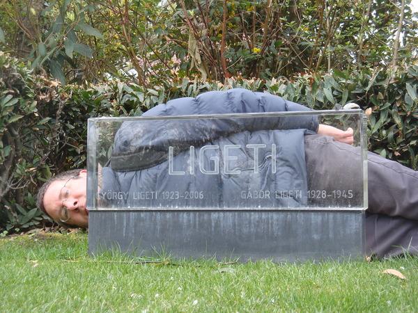 György Ligeti's Grave