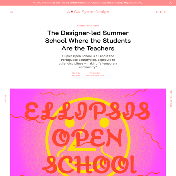 The Designer-led Summer School Where the Students Are the Teachers