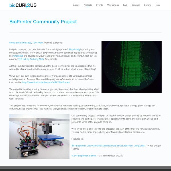 BioPrinter Community Project