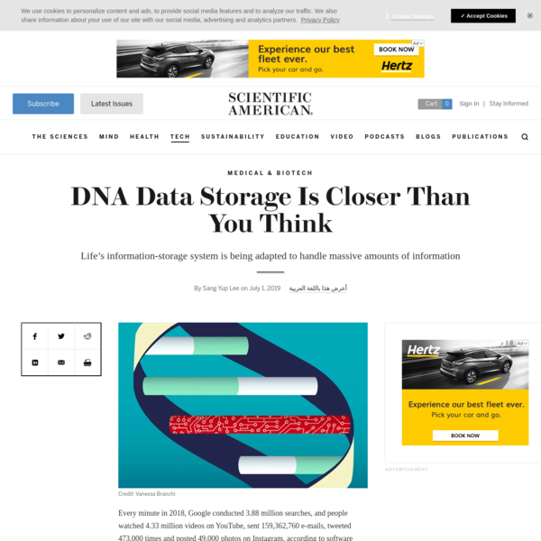 DNA Data Storage Is Closer Than You Think