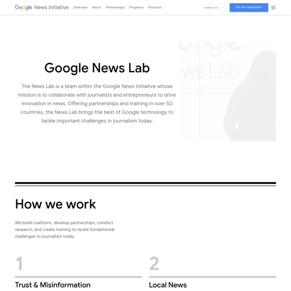 Google News Lab - Google News Initiative