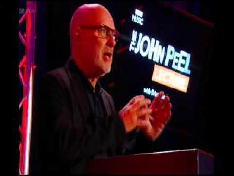 Brian Eno J Peel lecture