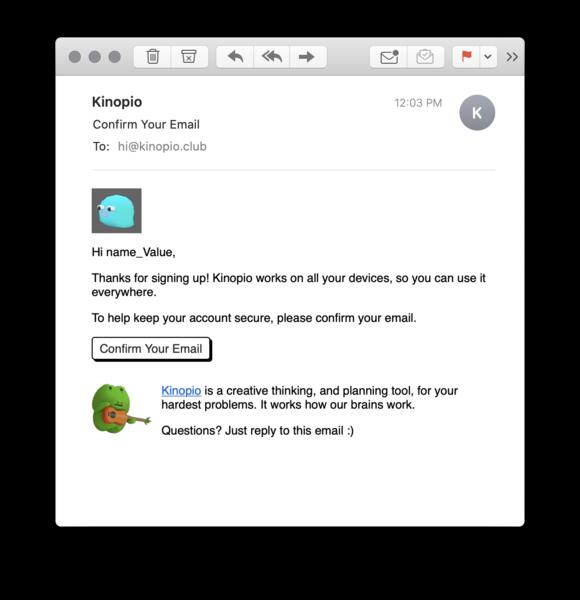 small email tweaks