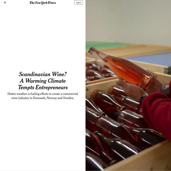 Scandinavian Wine? A Warming Climate Tempts Entrepreneurs