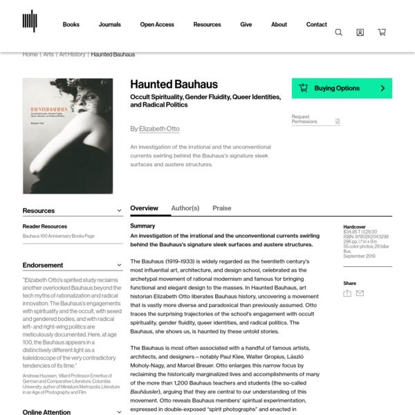 Haunted Bauhaus