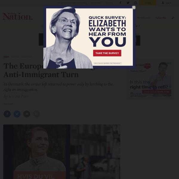 The European Left's Dangerous Anti-Immigrant Turn