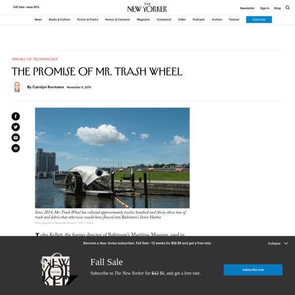 The Promise of Mr. Trash Wheel