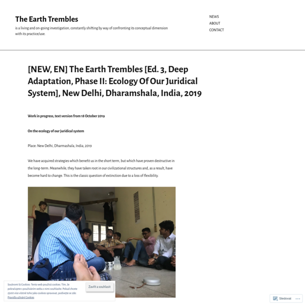[NEW, EN] The Earth Trembles [Ed. 3, Deep Adaptation, Phase II: Ecology Of Our Juridical System], New Delhi, Dharamshala, In...