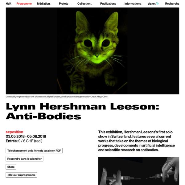 Lynn Hershman Leeson: Anti-Bodies