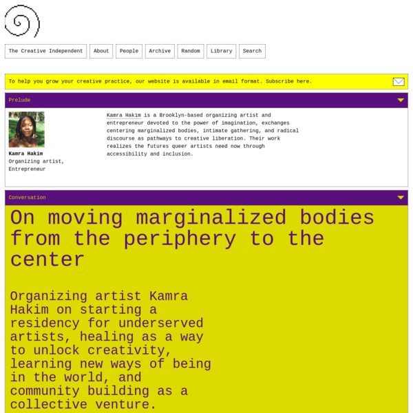On moving marginalized bodies from the periphery to the center