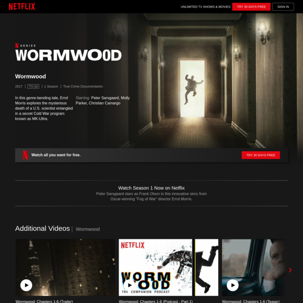 Wormwood | Netflix Official Site