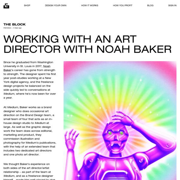 Working with an Art Director with Noah Baker | Everpress
