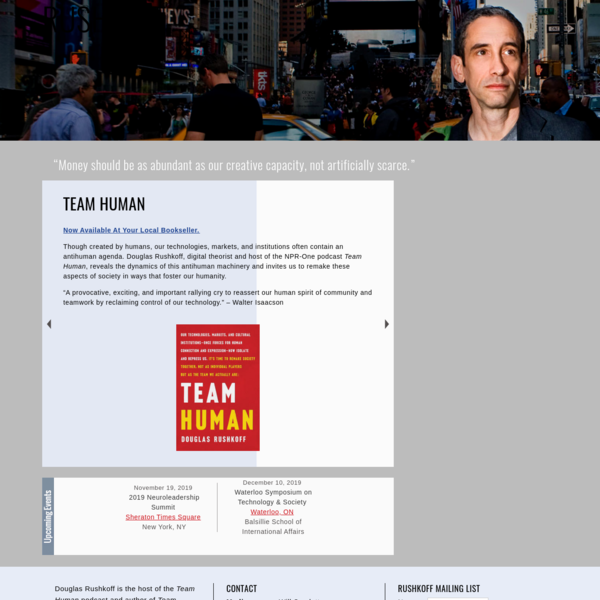 Douglas Rushkoff :: Official Site