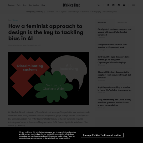 How a feminist approach to design is the key to tackling bias in AI