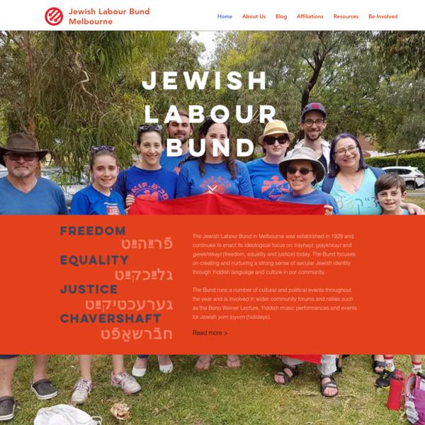 Jewish Labour Bund Melbourne