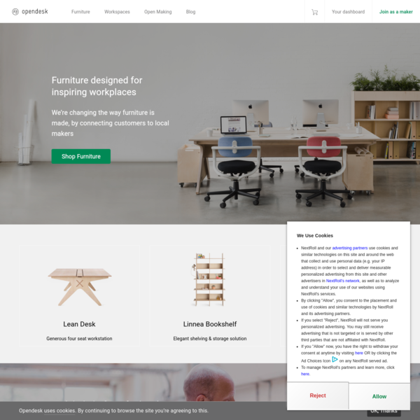 Opendesk - Furniture designed for inspiring workplaces