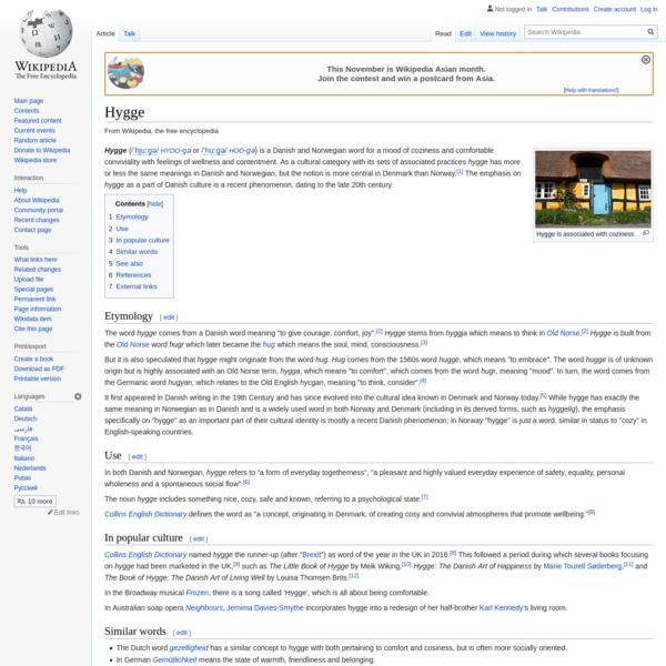 Hygge - Wikipedia