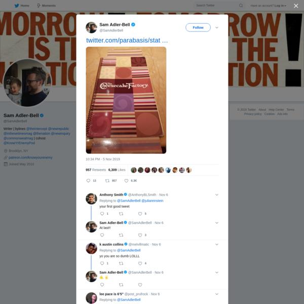 Sam Adler-Bell on Twitter