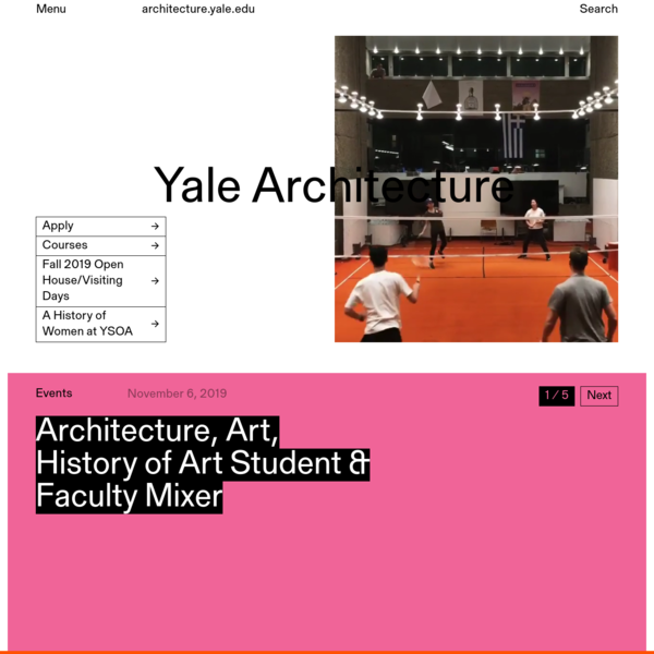 Home - Yale Architecture