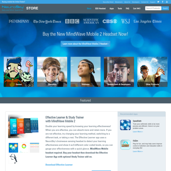 EEG Headsets | NeuroSky Store