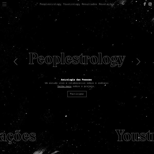 Peoplestrology - Astrologia das Pessoas