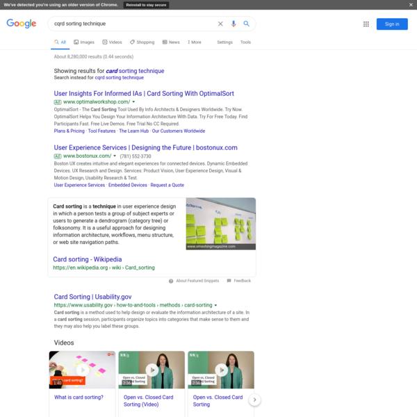 cqrd sorting technique - Google Search