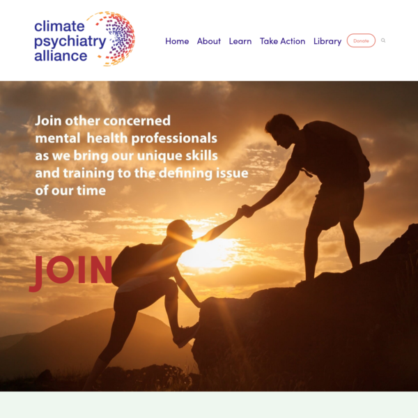 Climate Psychiatry Alliance