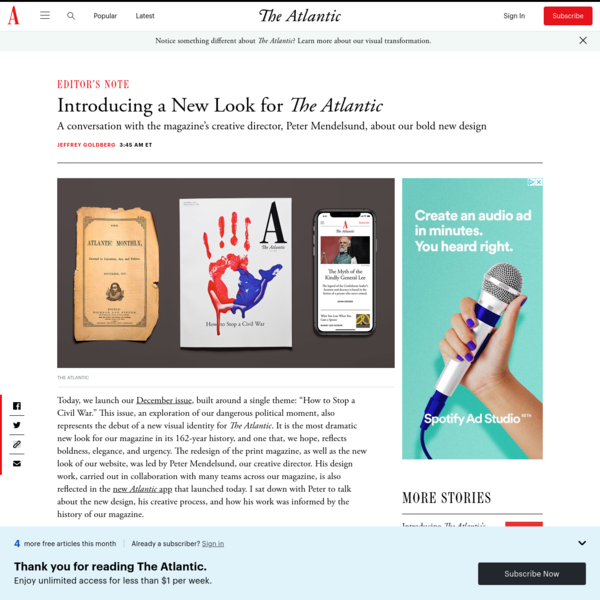 Introducing a New Look for The Atlantic - The Atlantic