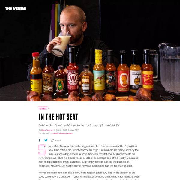 Inside Hot Ones, the wildly popular and violently spicy YouTube show