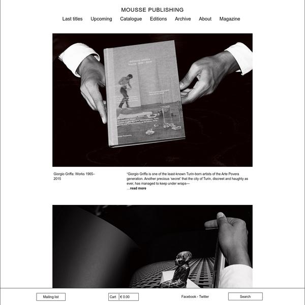 Mousse Publishing -