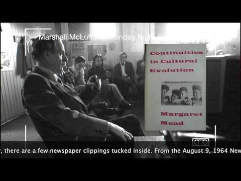 Marshall McLuhan 1969/1972 Full recording of a Monday Night Seminar at Toronto University