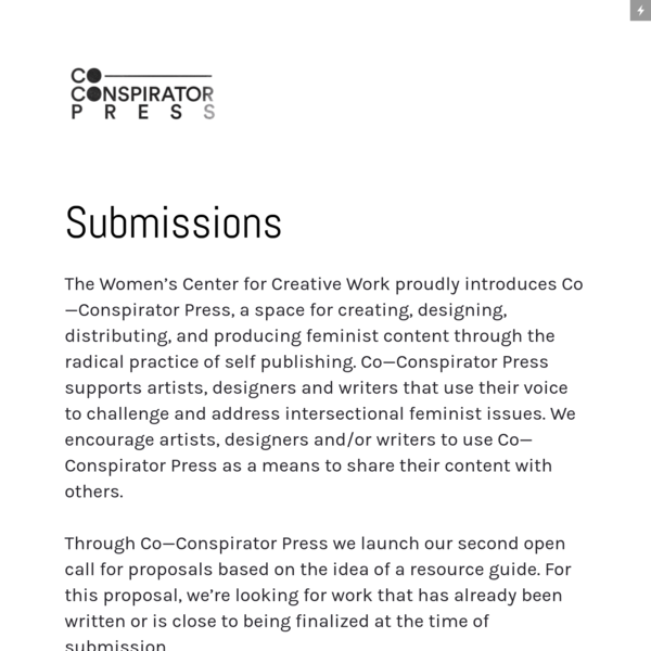 Co-conspirator Press