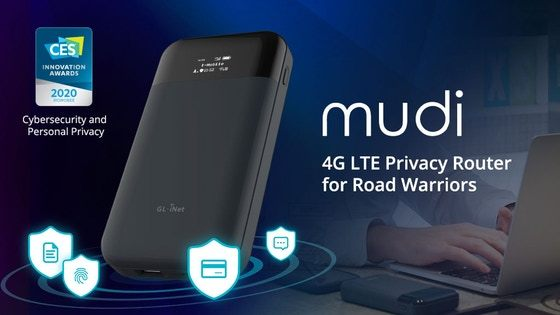 Mudi: 4G LTE Privacy Router for Road Warriors
