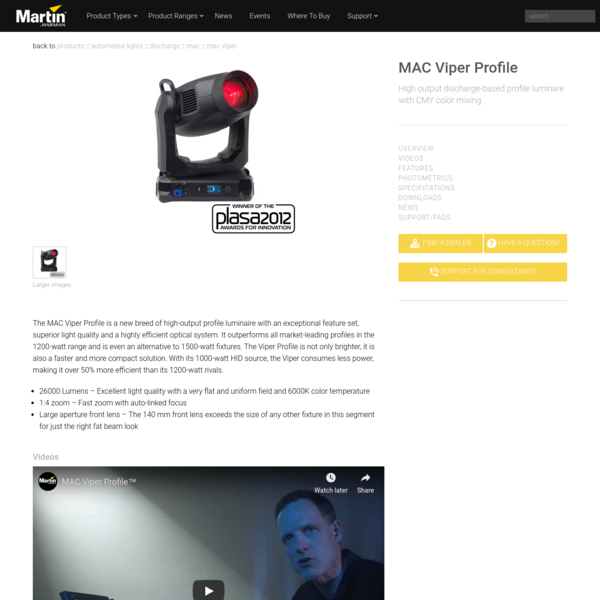 Martin MAC Viper Profile