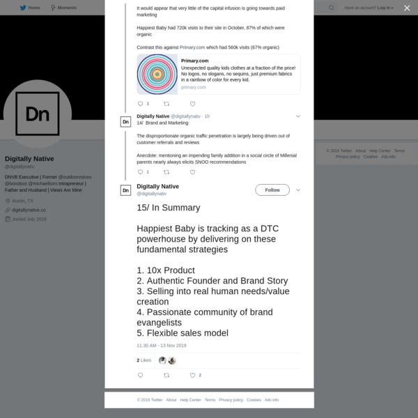 Digitally Native on Twitter