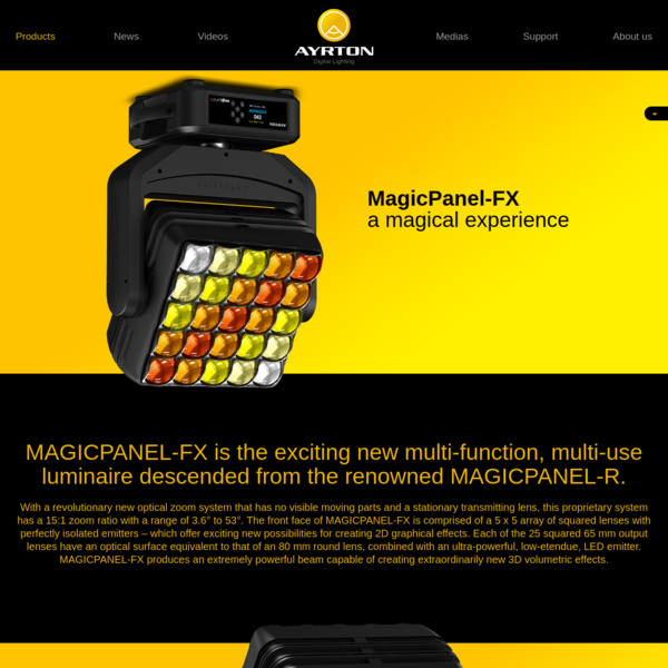 MagicPanel-FX