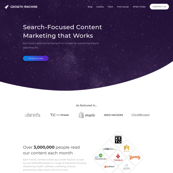 Growth Machine: Get More Traffic from Google
