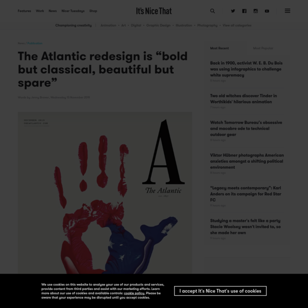 "The Atlantic redesign is ""bold but classical, beautiful but spare"""