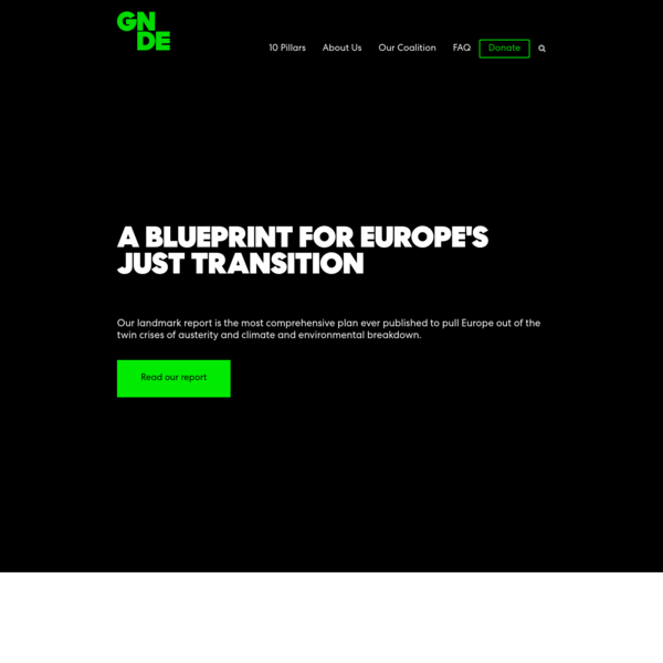 Green New Deal for Europe