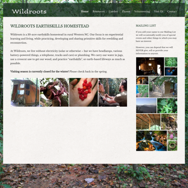 Home | Wildroots